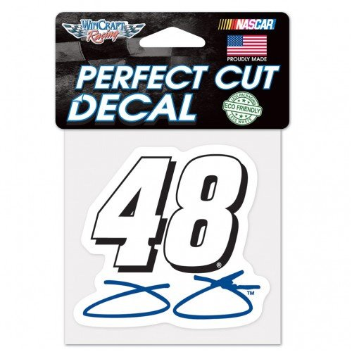 #48 Jimmie Johnson 2015 Lowes 4x4Perfect Cut Decal Wincraft -78133014