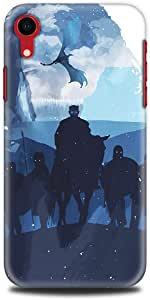 iPhone xR Case - TV Series - Game of Thrones Blue Silhouettes - Game of Thrones