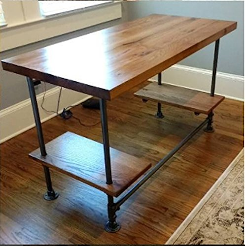 Amazon.com: Desk made from reclaimed wood - custom built to ...