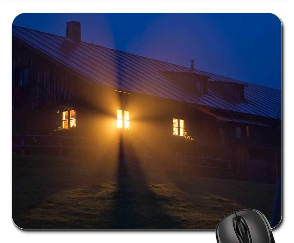 Amazon com : Mouse Pads - Window Fog House Cabin God Rays