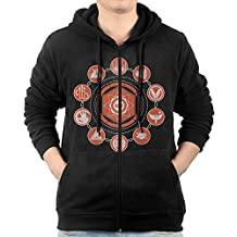 Men Sunsinger Destiny Hunter Hooded Sweatshirt Black
