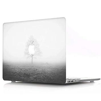 AQYLQ Funda Dura para MacBook Air 13 Pulgadas (A1369 / A1466), Ultra Delgado Carcasa Rígida Protector de Plástico Acabado Mate Cubierta, árbol