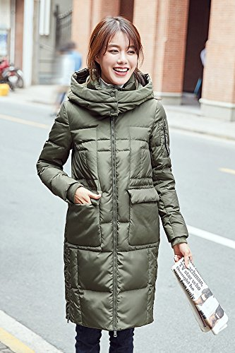 Generic High-Vatican winter new casual version long section female Korean fashion warm down jacket thick coat tide for women girl by Generic (Image #3)