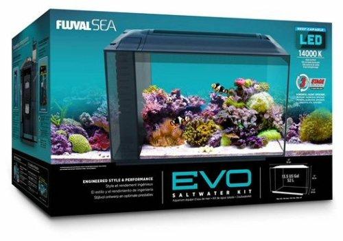 Fluval 10531A1 SEA EVO XII Aquarium Kit (Fluval Fish Tank)