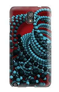 For Galaxy Case, High Quality Abstract Balls For Galaxy Note 3 Cover Cases