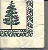 Chesapeake Beverage Napkins''Sponge Tree'' 30 Count