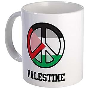 CafePress - Peace In Palestine Mug - Unique Coffee Mug, Coffee Cup