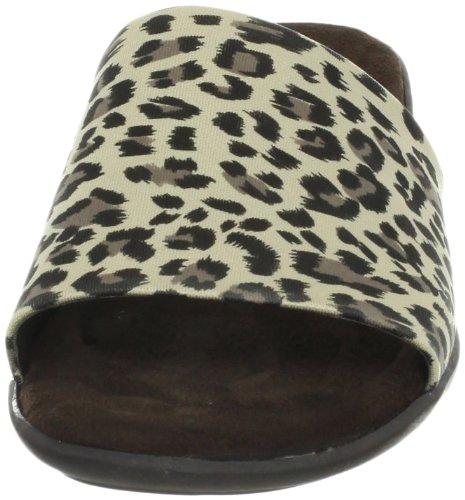 Aerosoler Kvinners Badminton Sandal Leopard Tan