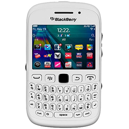 BlackBerry Curve 9320 Qwerty (GSM Only, No CDMA) Factory Unlocked 2G GSM 3G Simfree Cell Phone (White) - International Version