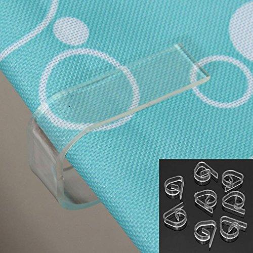 Table & Sofa Linens - 8pcs/Lot Clear Plastic Transparent Tab