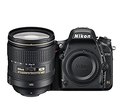 dda0cc75c5 Buy Nikon D750 Digital SLR Camera + 24-120mm 4G VR Kit Online at Low Price  in India