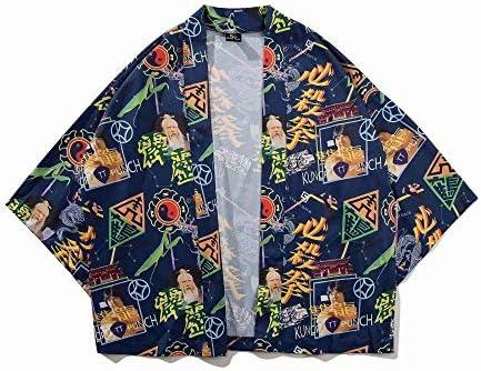 Kimono Yukata Mujeres Japón Kimono Tradicional Harajuku Carpa Imprimir Kimono Cardigan Femme Kimono Cosplay Delgada Camisa De Algodón Zzzb (Color, Size : M): Amazon.es: Hogar