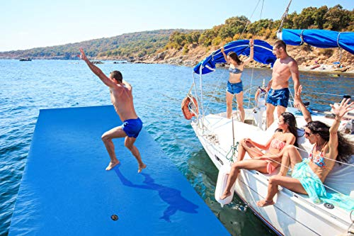 - Outroad Floating Mat - Floating Foam Pad Water Recreation and Relaxing for Adults and Kids (9' x 6') - Not Include Elastic String and Anchor Point