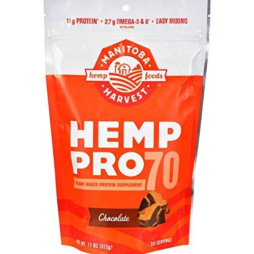 Manitoba Harvest Hemp Pro 70 - Chocolate - 11 oz