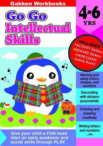 Go Go Intellectual Skills 4-6 (GakkenWorkbooks)