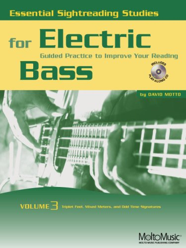 Essential Sightreading Studies for Electric Bass Volume 3
