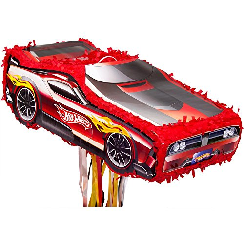 Ya Otta Pinata BB102795 Hot Wheels Pinata (Car Racing Pinata)