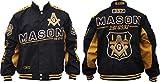 Cultural Exchange Mason Divine S7 Mens Twill Racing Jacket [Black - L]