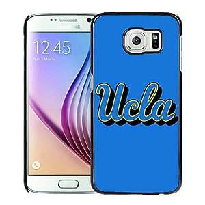 NCAA UCLA Bruins 04 Black Hard Shell Phone Case For Samsung Galaxy S6