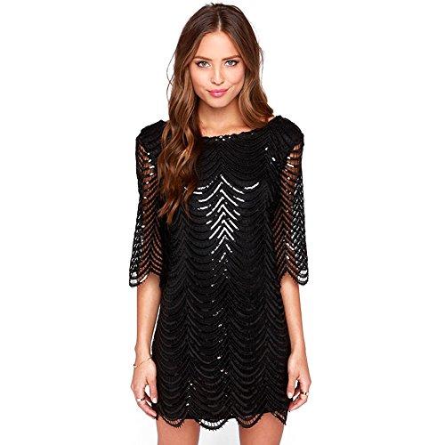 Black long sleeve dress amazon