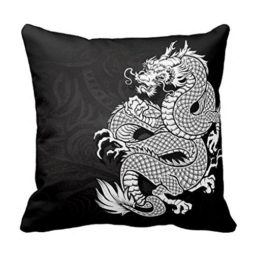 Cojín con dragon chino