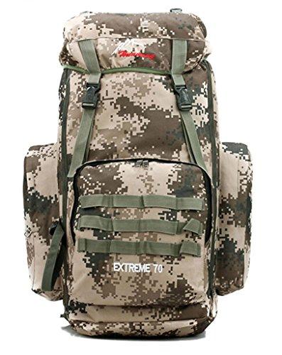50+5L Sport Outdoor Military Rucksacks Tactical Molle Backpack Camping Hiking Trekking Bag