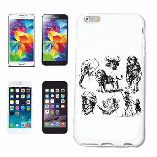 """cas de téléphone iPhone 7 """"ANIMAUX SAUVAGES WILD ELEPHANT LION RHINO CHIMPANZEE HUNTER LIFESTYLE FASHION STREETWEAR HIPHOP SALSA LEGENDARY"""" Hard Case Cover Téléphone Covers Smart Cover pour Apple iPho"""