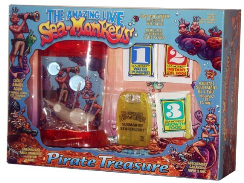 Sea Monkeys Pirate (The Amazing Live Sea-Monkeys-Pirate Treasure (Colors may vary) by)