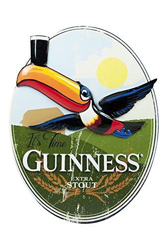 Guinness Keg - Guinness Oval Toucan Landscape Resin Wall Art