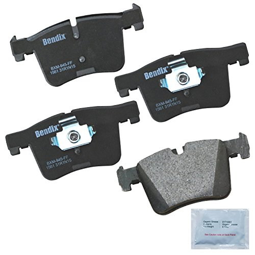 Bendix Premium Copper Free CFM1561 Premium Copper Free Semi-Metallic Brake Pad (Front)