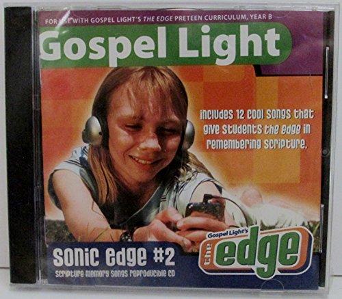 David C Cook Gospel Light Sonic Edge #2 Scripture Memory Songs The Edge Reproducible CD from David C Cook