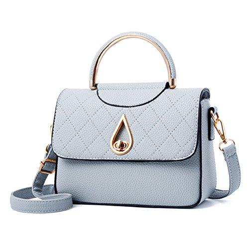 Mujeres Señoras Para Bolsa Laidaye Hombro Bolsos De Las Bolso de Embragues Mochila Moda Compras Blue Bolsas WBqwXwan