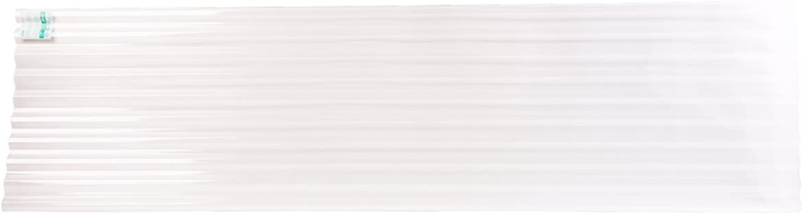 Palruf Corrugated Pvc 8 Ft Clear Roofing Panels The Home Depot Canada