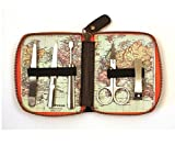 Man of The World Map Retro Style Nail Care Kit