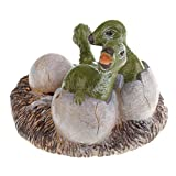 MonkeyJack Lifelike Dinosaur Animal Model Figure Figurine Toy Jurassic Maiasaura Model Children Kids Birthday/Chrismas Gift Collectibles Home Decoration