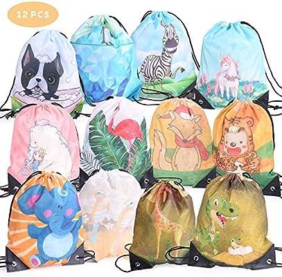 Ulikey 12 Pack Bolsas de Cuerdas para Infantil, Encantador Cordón ...