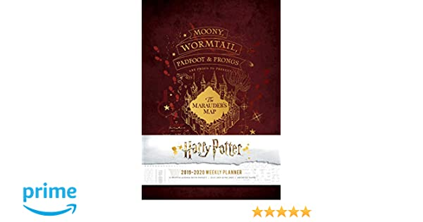 Harry Potter 2019-2020 Weekly Planner Harry Potter Planners ...
