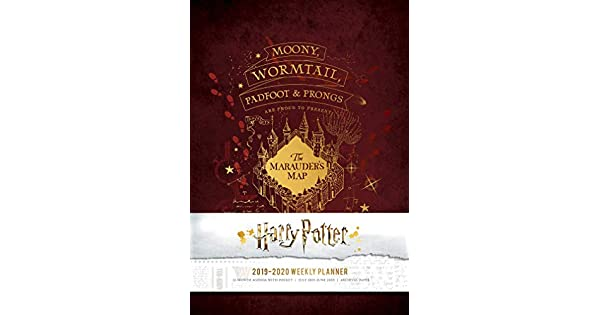 Amazon.com: Harry Potter 2019-2020 Weekly Planner ...
