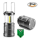 2pcs Lantern Flashlight - Magnetic Base Lantern Camping 30 LED Flashlight - 500Lumen Camping Light - Collapsible, Waterproof, Shockproof with handle for Senior Citizen, Adult&Child by Letmy