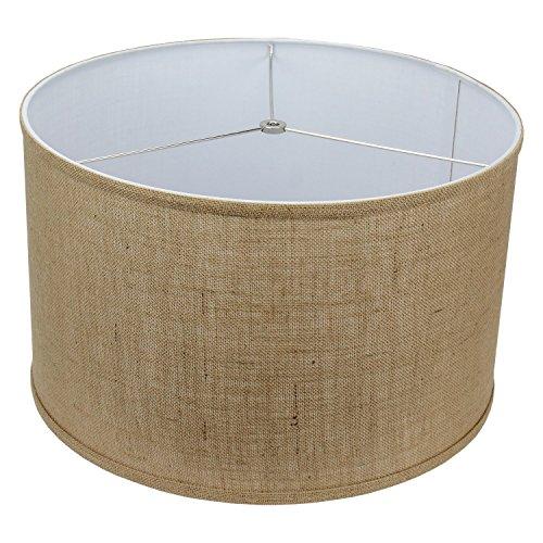 Buy burlap lamp shade large