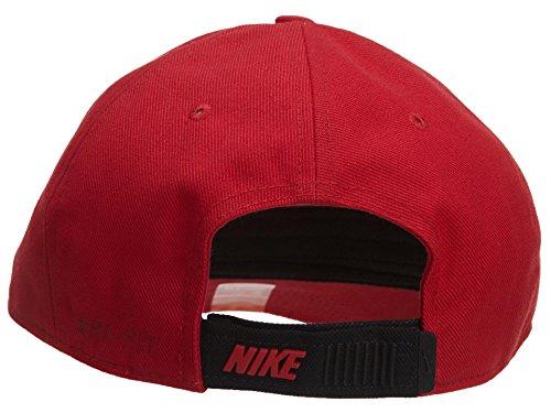 Gorra de entrenamiento ajustable Nike Legacy Dri-Fit Cap-Red-One