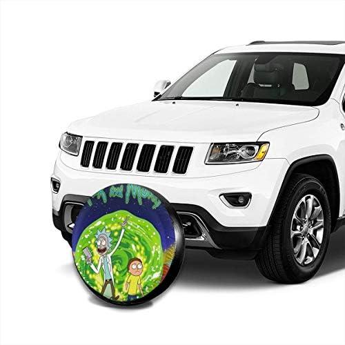 リックアンドモティ へタイヤカバー タイヤカバー スペアタイヤカバー タイヤ袋 へタイヤバッグ タイヤトート へタイヤ ホイール 保管 タイヤ 収納 に便利 防紫外線 防塵 防水 厚手生地 劣化対策 長持ち