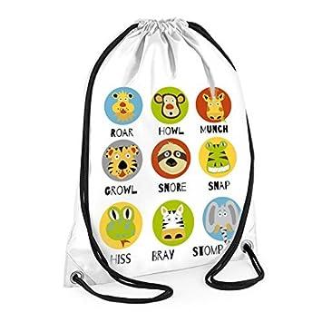 Niños bolsa de natación, cara de mono bolsa de natación ...