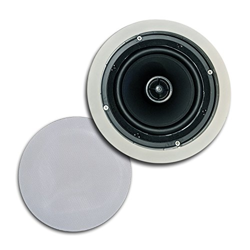 CT Sounds In-Ceiling Surround Sound 6.5'' 2-Way Home Audio Weatherproof Speaker (1 Speaker) by CT Sounds