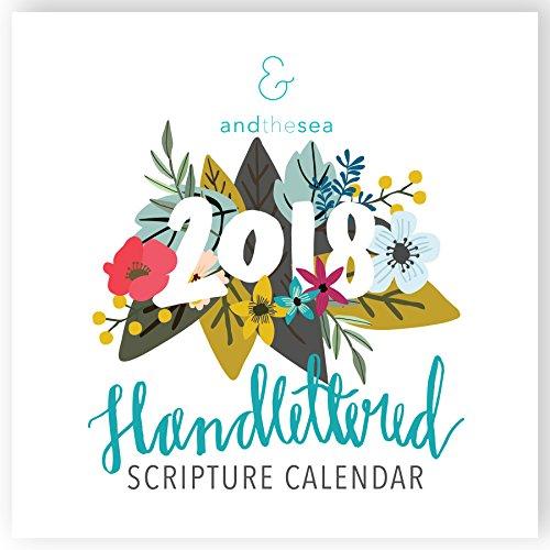 Bible Verse Calendar (2018 Christian Calendar with Floral Bible Verse (Scriptures / Planner / Wall Calendar))