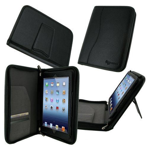 rooCASE Executive Portfolio Leather Case Cover for iPad Mini