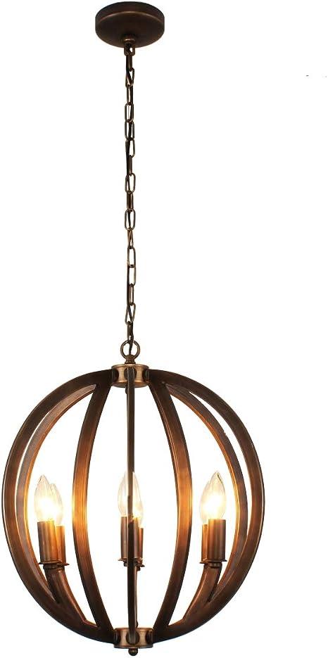 Betere Ironclad Ceiling Pendant in Bronze - - Amazon.com VI-21