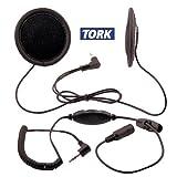 Tork X2 Stereo Motorcycle Helmet Speakers with Volume Control