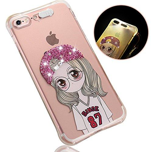 29 opinioni per Cover TPU per iPhone 5S, Custodia per iPhone SE, Sunroyal Bling Strass Diamante