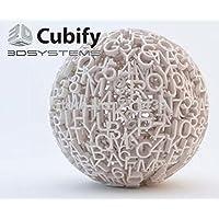 3D Systems 401423-01 CubePro CartridgeABS Industr ial Grey